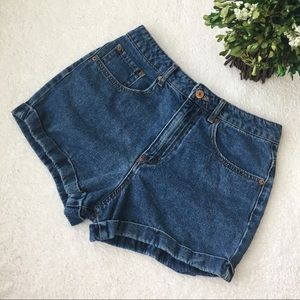 Forever 21 High Waisted Denim Shorts